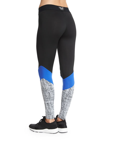 Colorblock Cycling Leggings