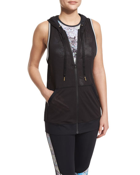 Alala All Star Hooded Mesh Athletic Vest
