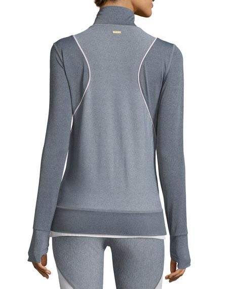 Alala Frontrunner Fitted Full-Zip Sport Jacket