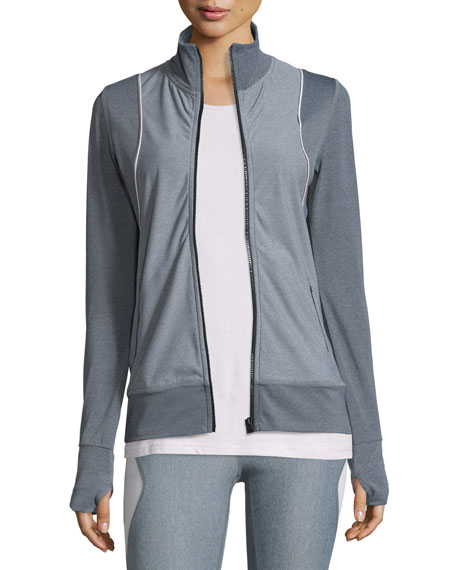 Frontrunner Fitted Full-Zip Sport Jacket