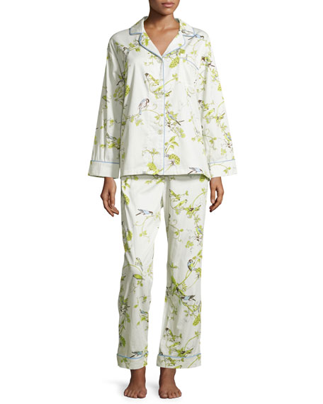 Bedhead Winter Cardinal Classic Pajama Set, Birds and