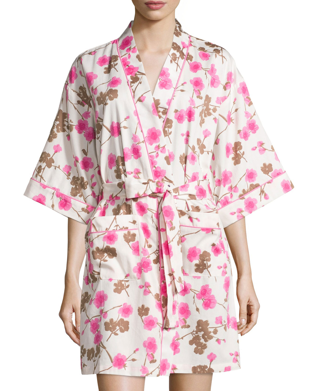 b51da8c77ab8 Bedhead Cherry Blossom Printed Kimono Robe