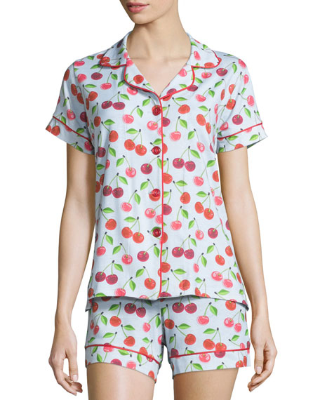 c72240f1dc Bedhead Sweet Cherry Printed Shorty Pajama Set on PopScreen