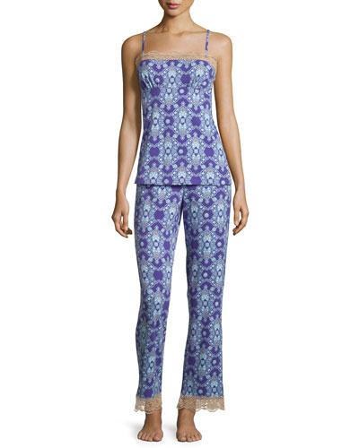 Aladdin's Lamp Printed Pajama Set