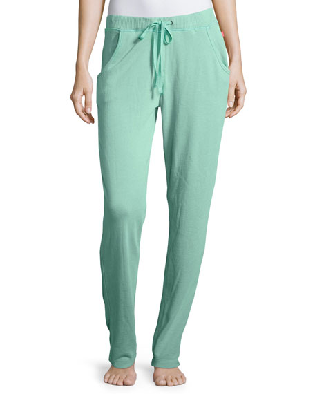 Josie Natori No Sweat Lounge Pants, Mint