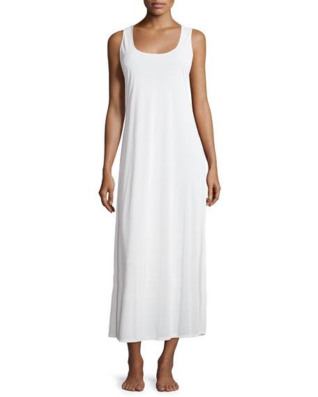 Natori Boudoir Sleeveless Nightgown, Ivory
