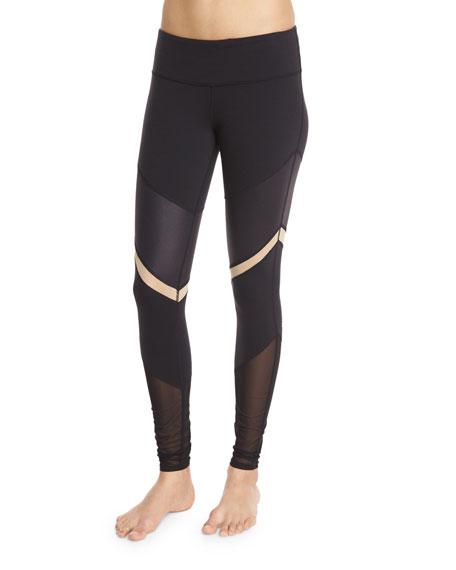 Alo Yoga Shelia Paneled Sport Leggings