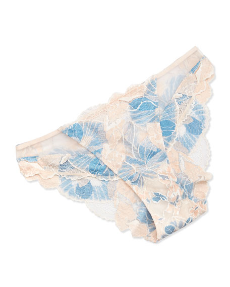 Lise Charmel Sonate En Bleu Floral-Lace Italian Bikini