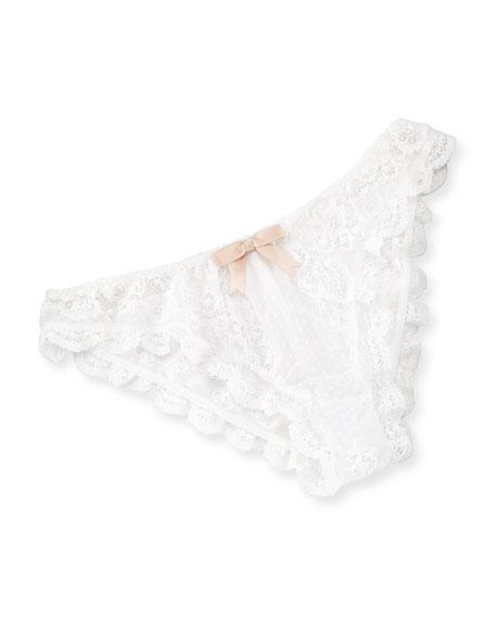 Anouk Lace Bikini Briefs, White