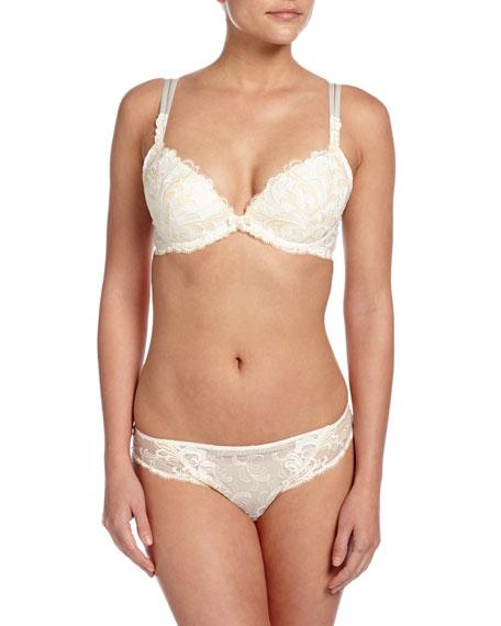 Vibration Guipure Lace Italian Bikini Brief