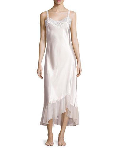 Always-A-Bride Long Nightgown, Blush