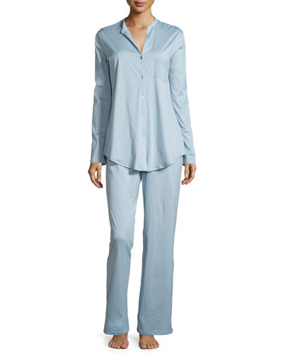 Cotton Deluxe Pajama Set, Tourmaline