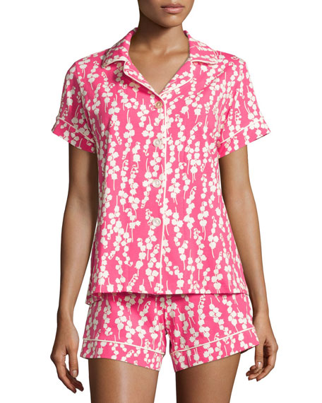 BedheadBellflower Printed Shorty Pajama Set