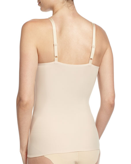 Visual Effects Shaping Camisole with Built-in Full Coverage Bra