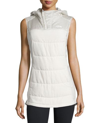 Pseudio Tunic Vest, Moonlight Ivory Heather/Moonlight Ivory