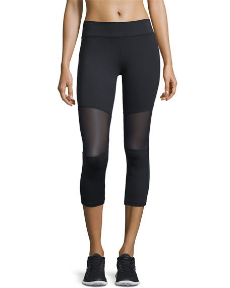 Varley Aileen 3/4-Length Compression Tights, Black