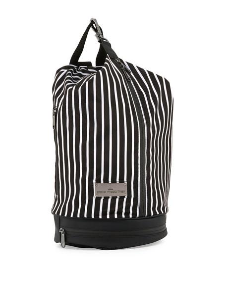 adidas by Stella McCartneySmall Striped Sports Bag