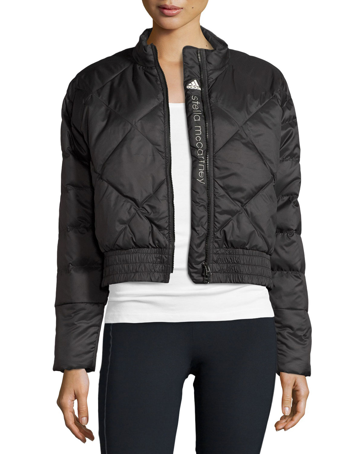 reputable site f8a2c 856f1 adidas by Stella McCartney Essentials Quilted Jacket, Black