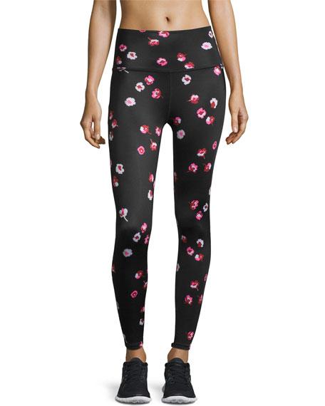 991015b3a16a3 Beyond Yoga kate spade new york high-waist floral-print bow-detail leggings,  falling floral | Neiman Marcus