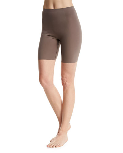 Thinstincts Targeted Mid-Thigh Shaper, Chestnut
