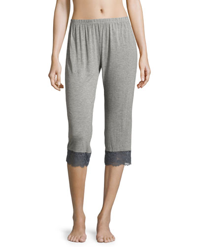 Nouveau Crop Lounge Pants, Heather Gray