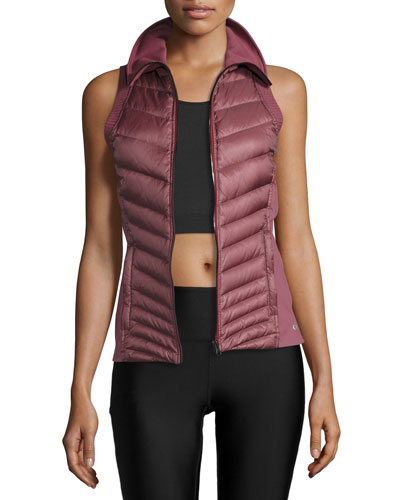 Altitude Performance Puffer Vest, Grenache