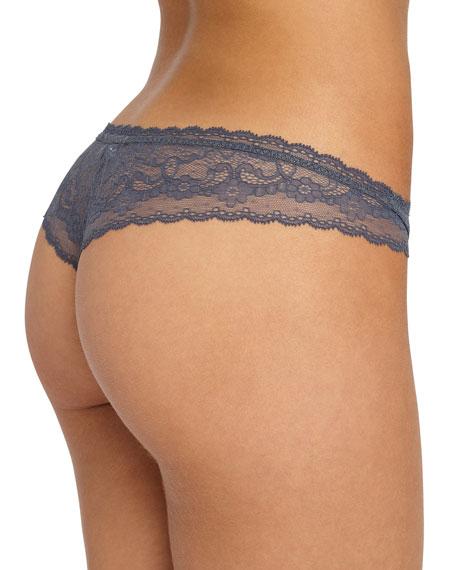 Ruffled Lace Thong