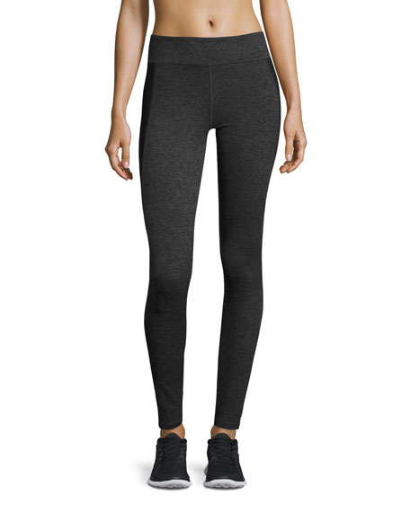Alala All Day Compression Tights, Charcoal/Black