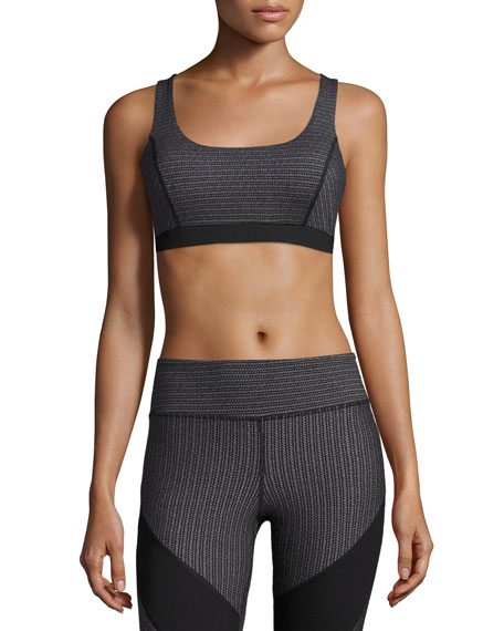 Vimmia Dotty Guru Sports Bra, Black