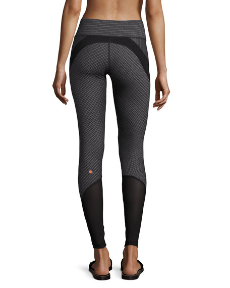 Dotty Defy Athletic Leggings, Black
