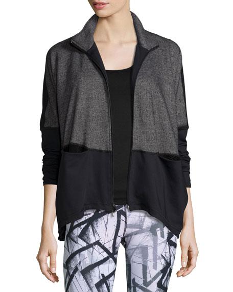 Devotion Hybrid Sports Jacket, Black