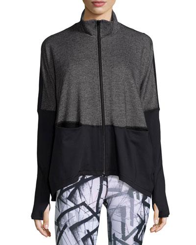 Devotion Hybrid Sports Jacket, Black