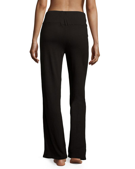 Holiday Highlight Jersey Lounge Pants, Black