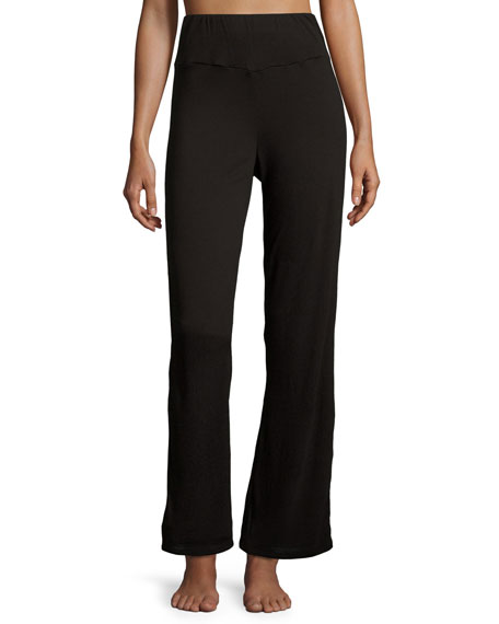 Fleur't Holiday Highlight Jersey Lounge Pants, Black