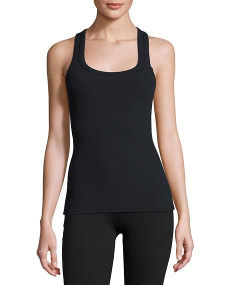 Alo Yoga Rib Support Tank, Black