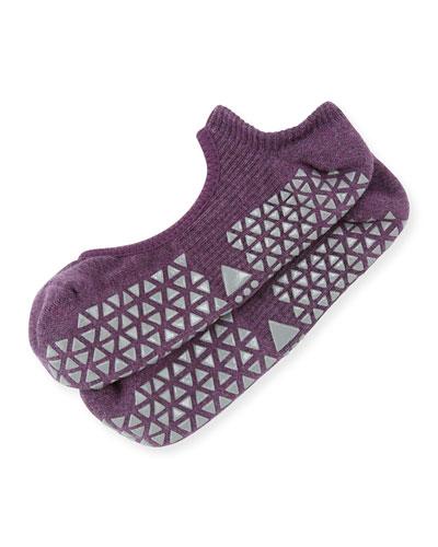 Chey Mary Jane Grip Socks, Purple