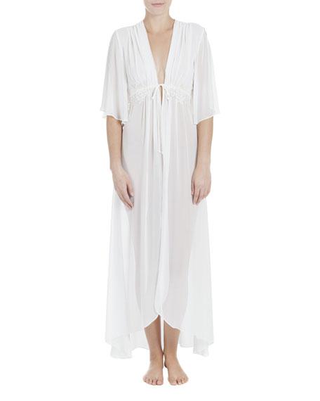 Jonquil Windsong Chiffon Bridal Robe, Ivory