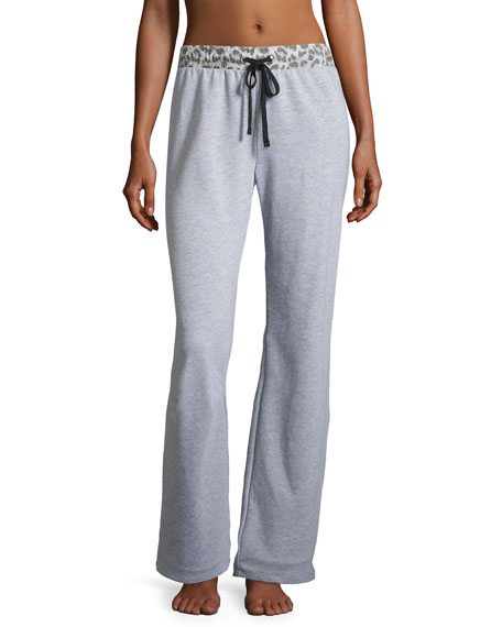 Cosabella Sterling Knit Lounge Pants, Heather Gray