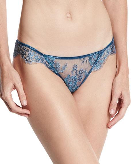 Nuits A Marrakesh Lace Panties, Metal Sapphire