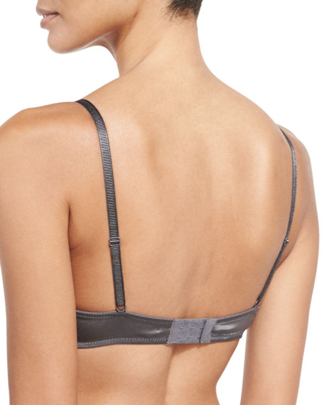 Soie Belle Full-Cup Bra, Anthracite