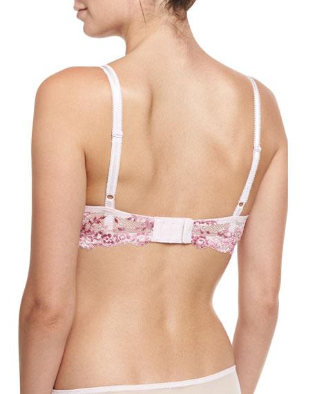 Embrace Lace Underwire Bra, Lilac Sachet Multi