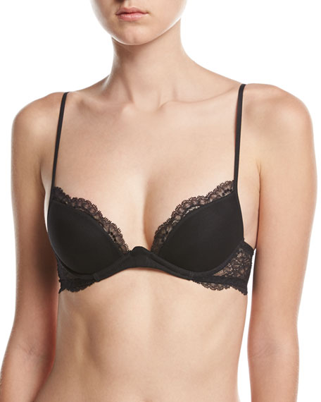 La Perla Romance Push-Up Bra, Black