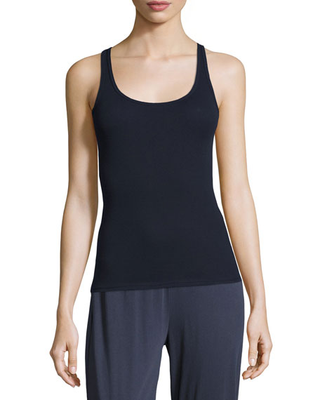 Cotton Jersey Ribbed Lounge Camisole