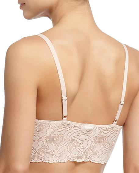 Lulu Soft Lace Long-Line Bra