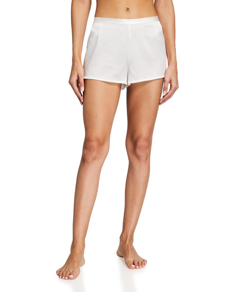 La Perla Silk Side-Button Lounge Shorts
