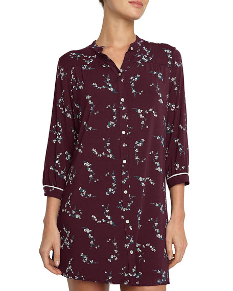 Eberjey Daisy Jersey Sleepshirt