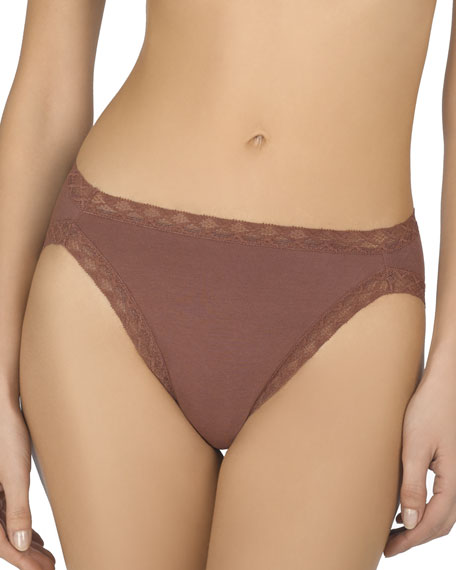 Natori Bliss French Cut Lace Trimmed Briefs