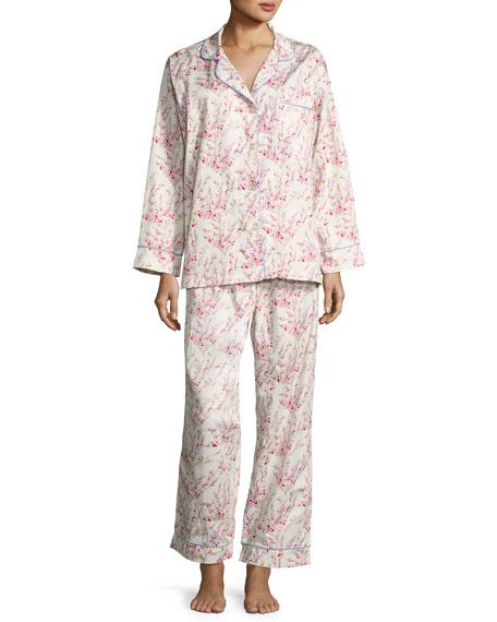 Bedhead Floral-Print Classic Pajama Set, Spring Bloom, Plus