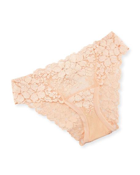 Azalea Lace Boy-Cut Briefs, Orange