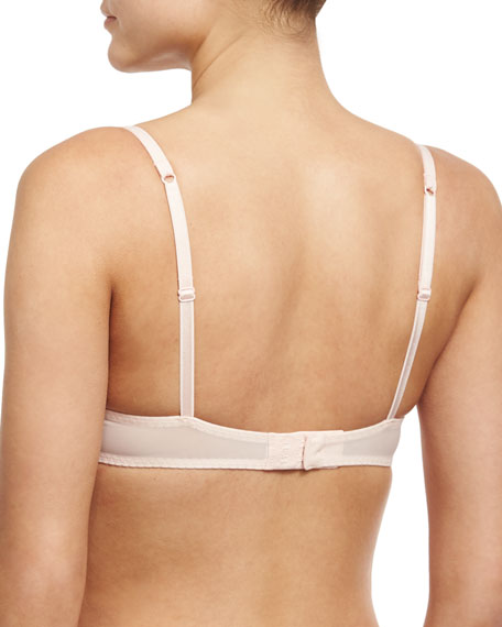 Insaisissable Padded Demi Bra, Pink/Orange